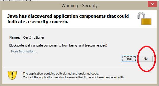 Hiện thông báo: lỗi java has discovered application components
