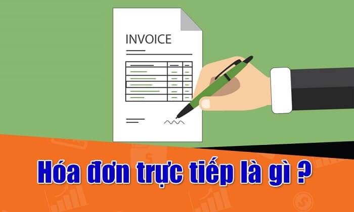 Hóa đơn trực tiếp có được khấu trừ thuế không?