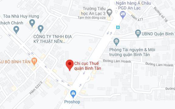 Chi cục thuế Quận Bình Tân