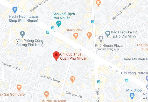 Chi cục thuế Quận Phú Nhuận