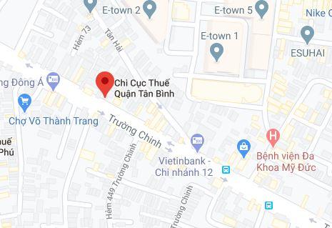 Chi cục thuế Quận Tân Bình