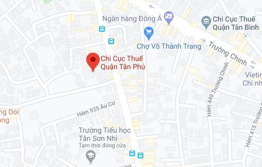 Chi cục thuế Quận Tân Phú