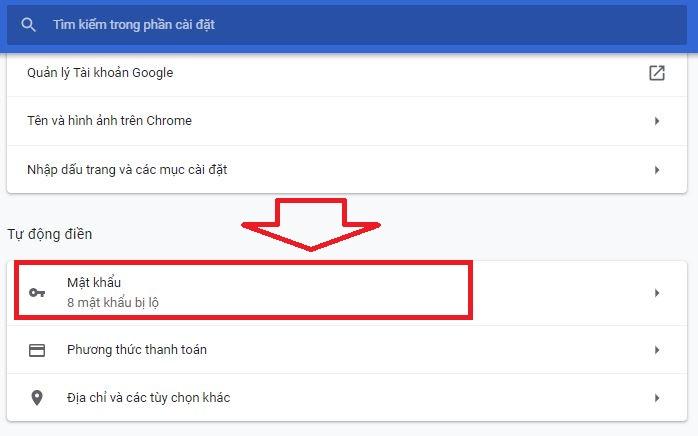 Cách bỏ qua việc lưu lại mật khẩu của trình duyệt Chrome