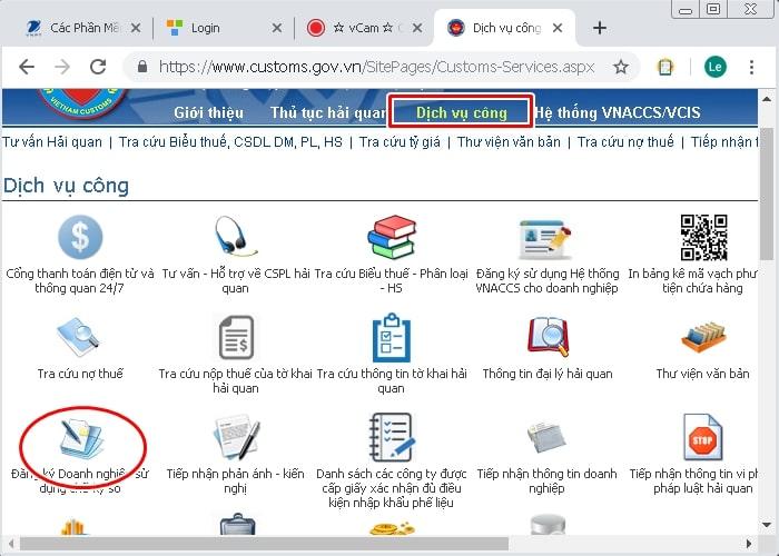 Khai Hải Quan Điện Tử Việt Nam – Hướng dẫn lấy 4 thông số khai báo VNACCS