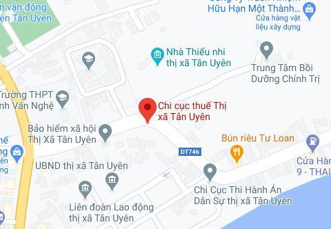 Chi cục thuế Thị xã Tân Uyên - BÌNH DƯƠNG