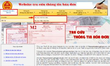 Hướng dẫn cách xác minh hóa đơn điện tử