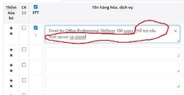 Trình soạn thảo thông tin hóa đơn vô cùng tuyệt vời của eHoaDon Online