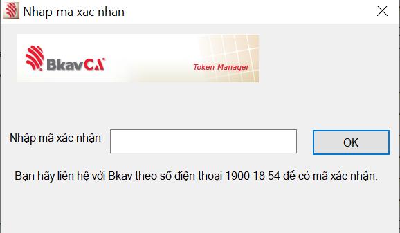 Gỡ bỏ BKAVCA Token Manager